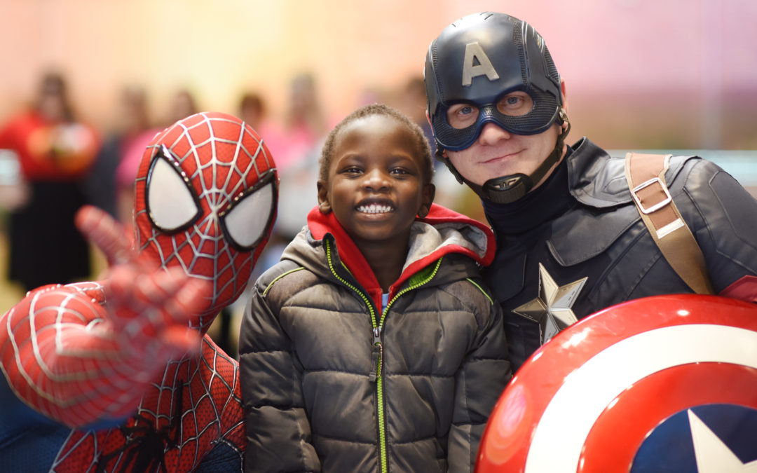 superheroes come in every size